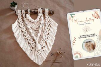 Makramee: Wandbehang plus gratis DIY-Set